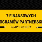 finansowe programy partnerskie